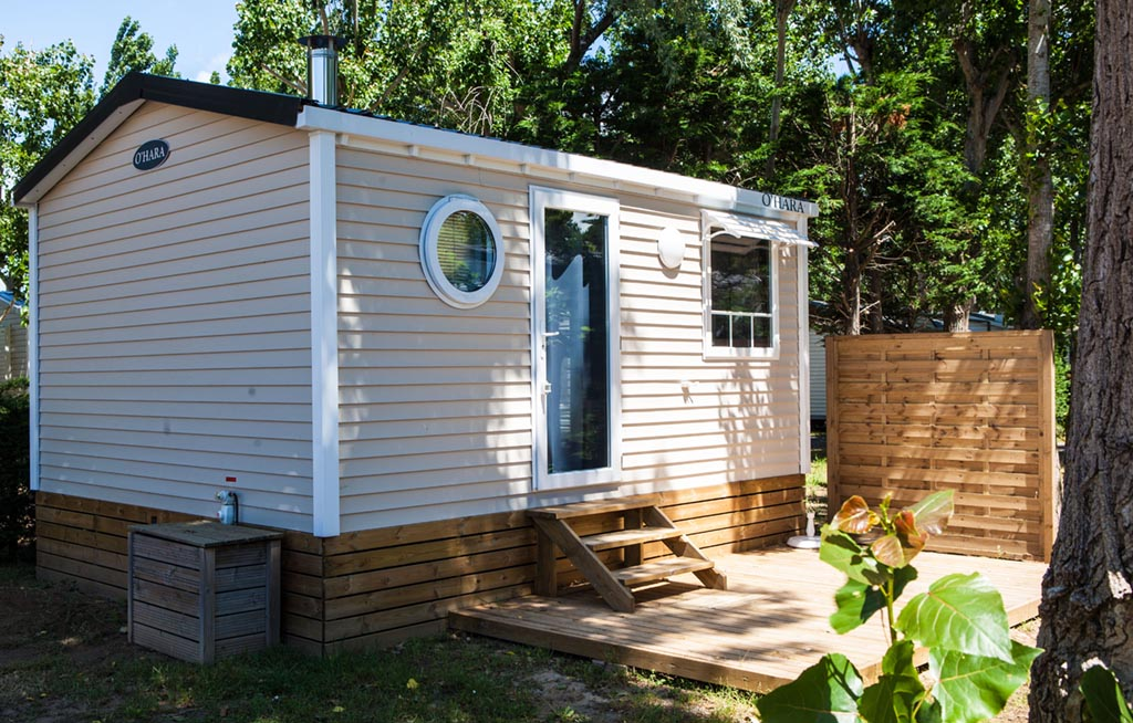 classic mobile home  1 bedroom  4 people  le clos virgile